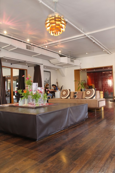 curly hair salon in new york