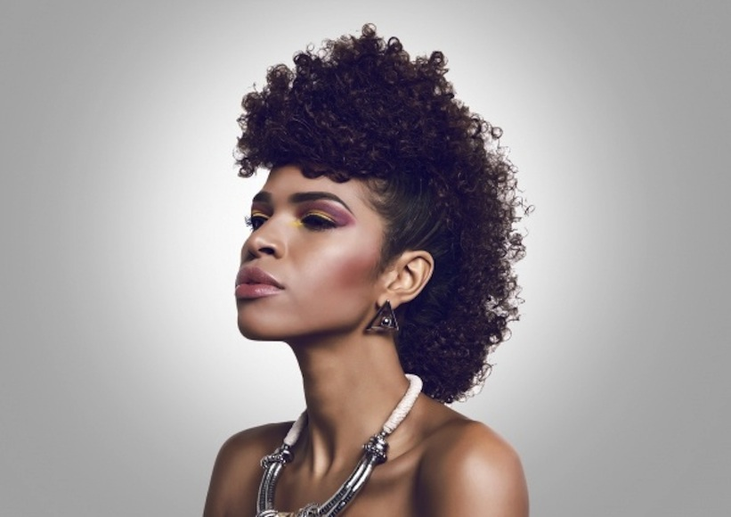 Pleasant The Frohawk Curls Understood Short Hairstyles For Black Women Fulllsitofus