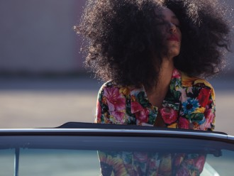 solange lovers in the parking lot