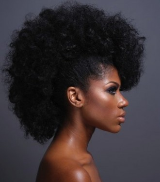 frohawk on natural hair