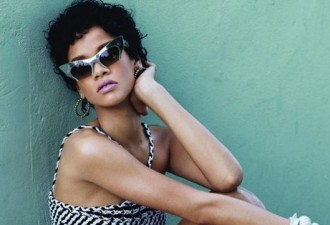 rihanna natural hair