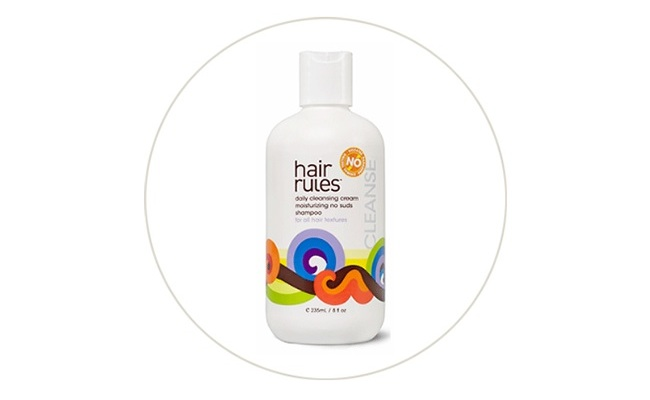 hair rules daily cleansing cream