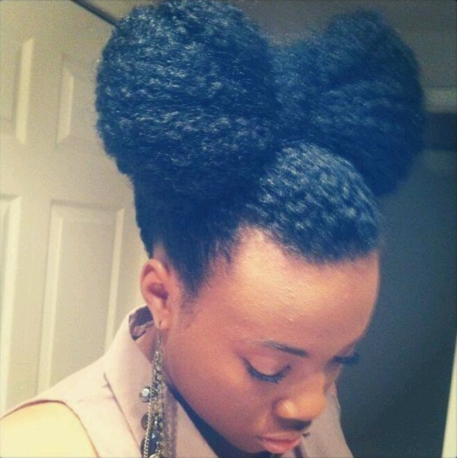 bow tie on natural hair