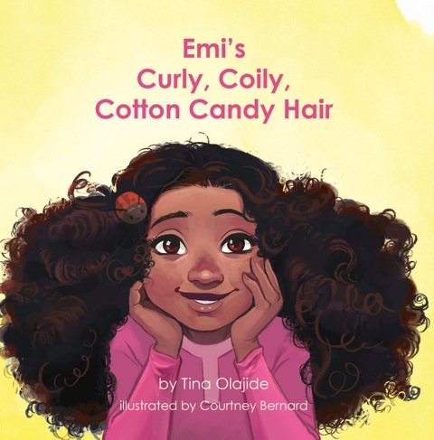 Children S Book Emi S Curly Coily Cotton Candy Hair