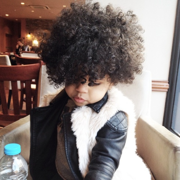 Natural Belle Talks Taking Care Of Freya S Biracial Hair
