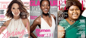 lightening black celebrities on magazine covers