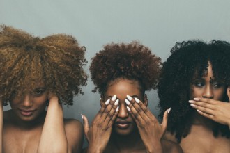 dealing with negative comments about natural hair