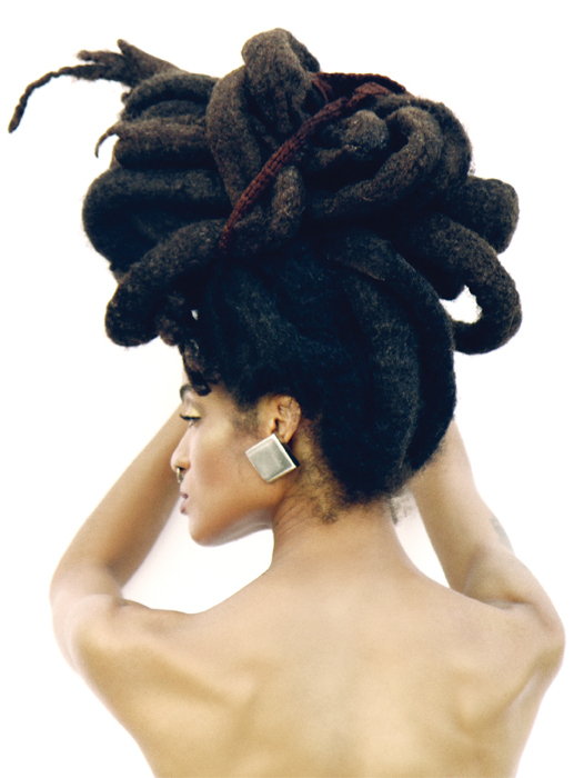Easy and gentle updos for locs curls understood updo hairstyles for long locs pmusecretfo Image collections