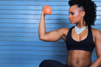 how to protect natural hair when working out