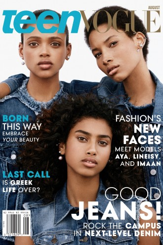 teen vogue naturals on august cover