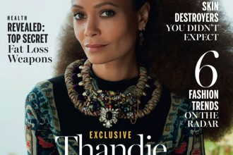 Thandie Newton Covers New African Woman Magazine