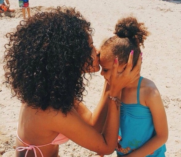 How To Protect Your Kid 39 S Hair At The Pool Curls Understood