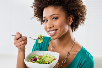 healthy eating and hair growth