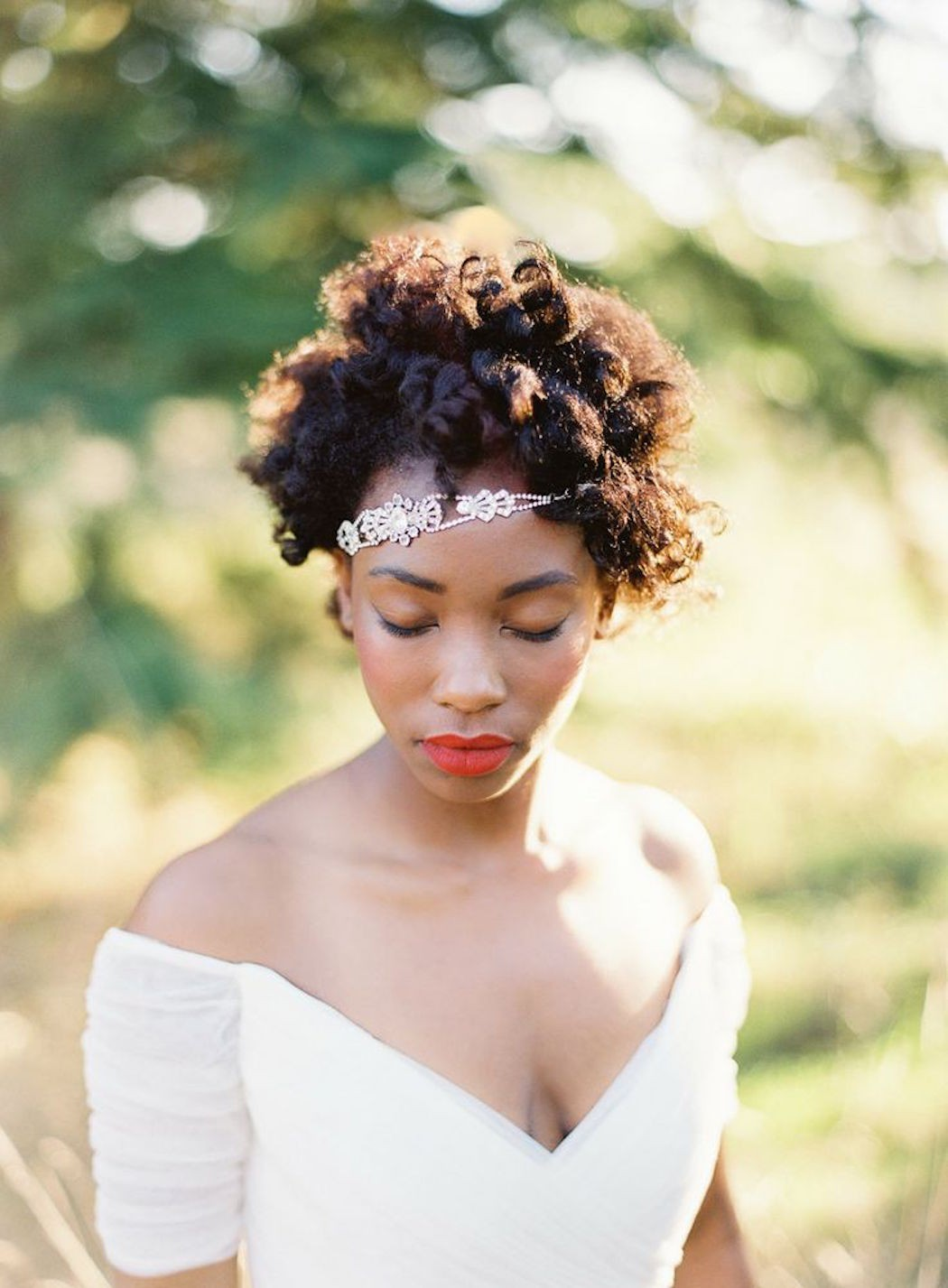 Fall Wedding Hairstyles For Medium Length Hair | Curls Understood