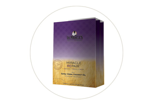 Dr. Miracle Miracle Repair 3-Step System