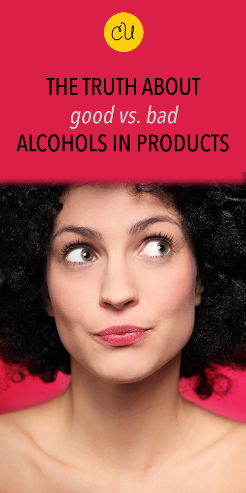 good alcohol in hair products
