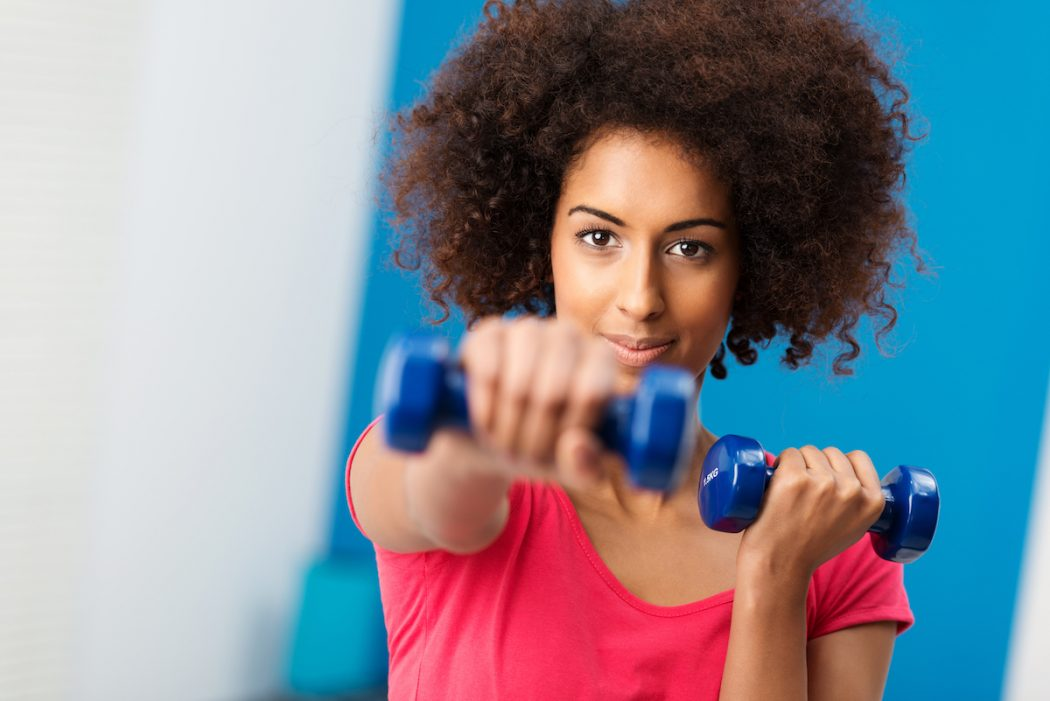 exercise and natural hair