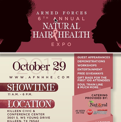 6th Annual Armed Forces Natural Hair & Health Expo