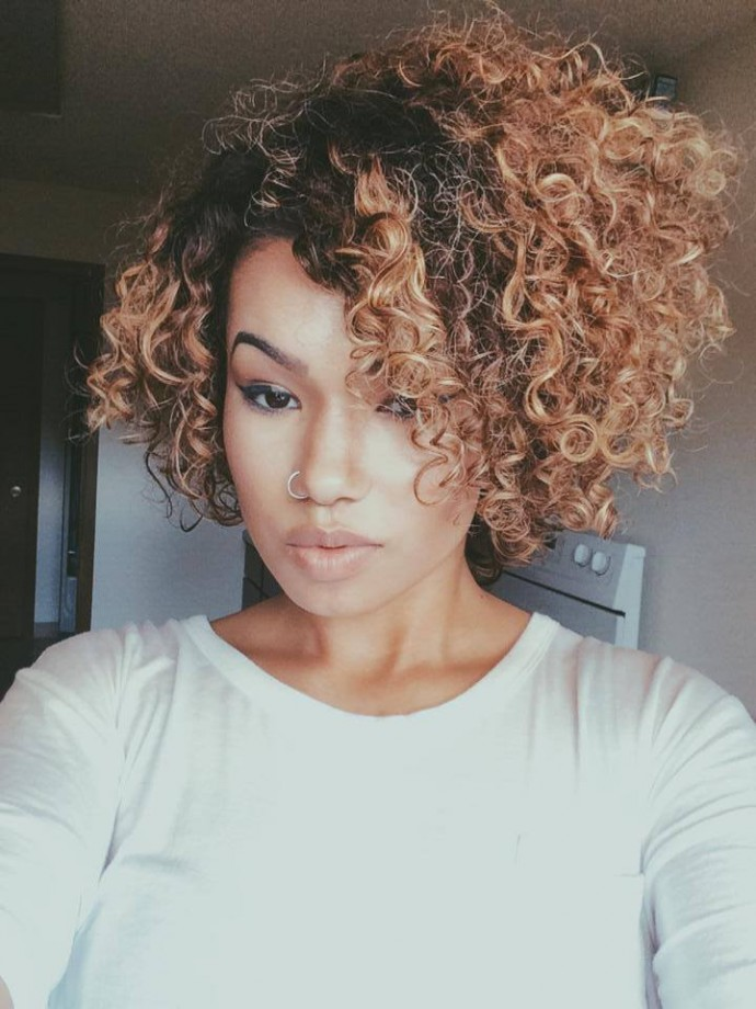 Hairstyles For Curly Thick Natural Long Hair Black Girl S Hair