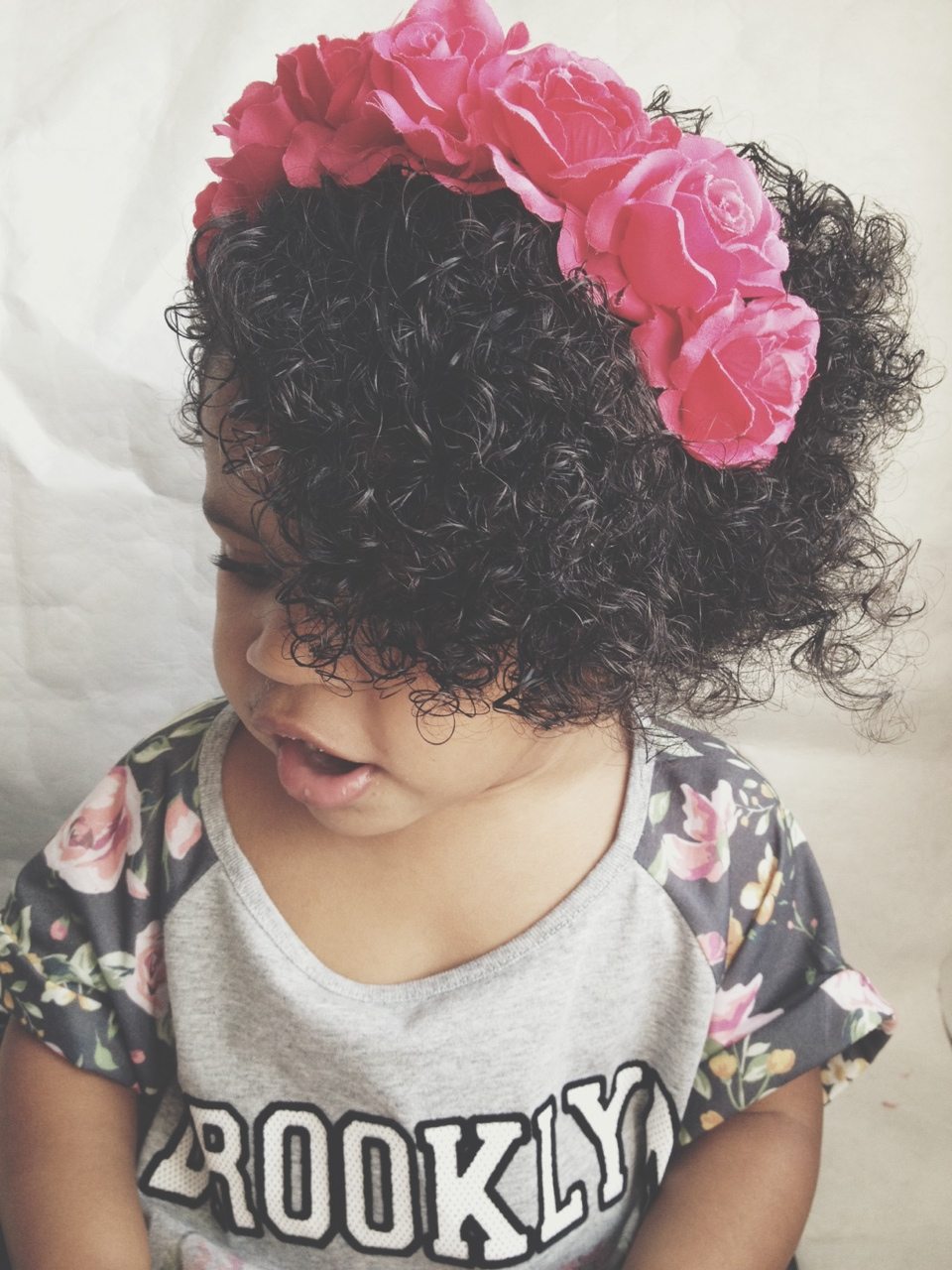 natural belle talks taking care of freya's biracial hair | curls