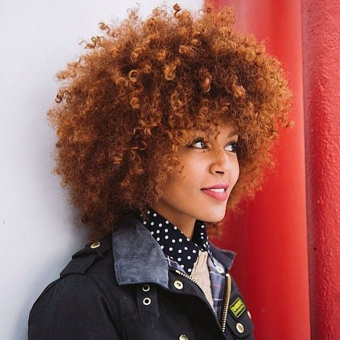 A Guide to Dying Curly Natural Hair Red | Curls Understood
