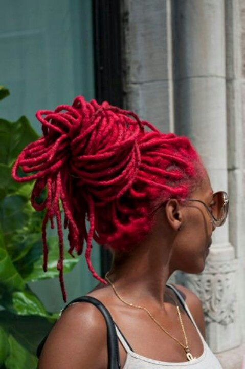 Easy And Gentle Updos For Locs Curls Understood