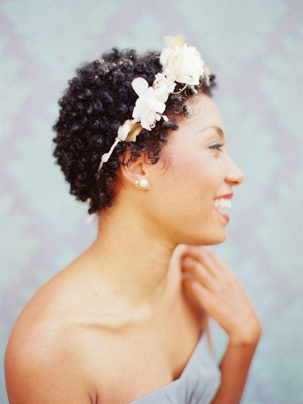Fall Wedding Hairstyles For Short Natural Hair | Curls Understood
