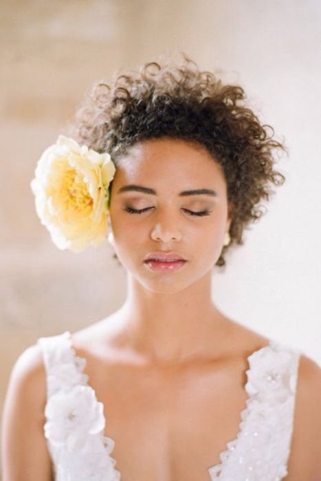 Fall Wedding Hairstyles For Short Natural Hair Curls Understood