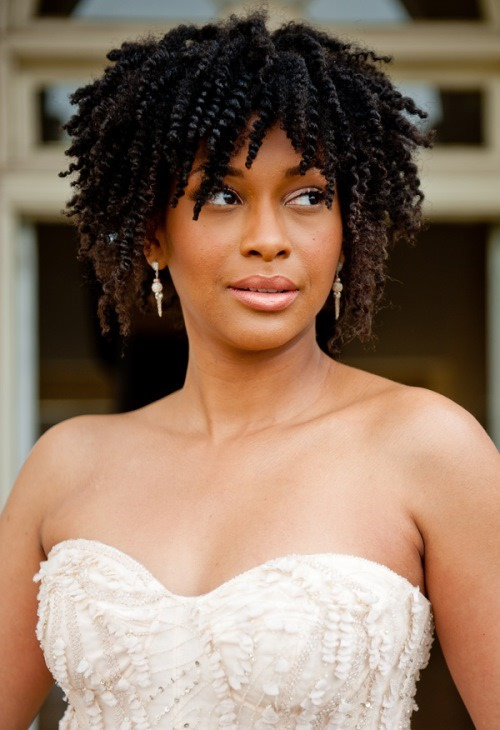 Summer Wedding Hairstyles For Long Natural Hair. The Twist-Out