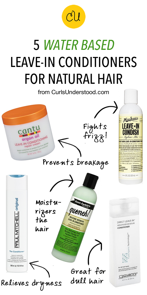 Leave-In Conditioners for Natural Hair