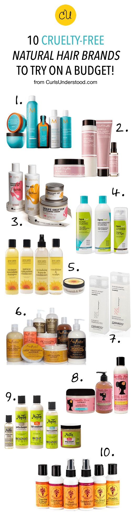 10 Cruelty Free Natural Hair Brands To Try On A Budget Curls