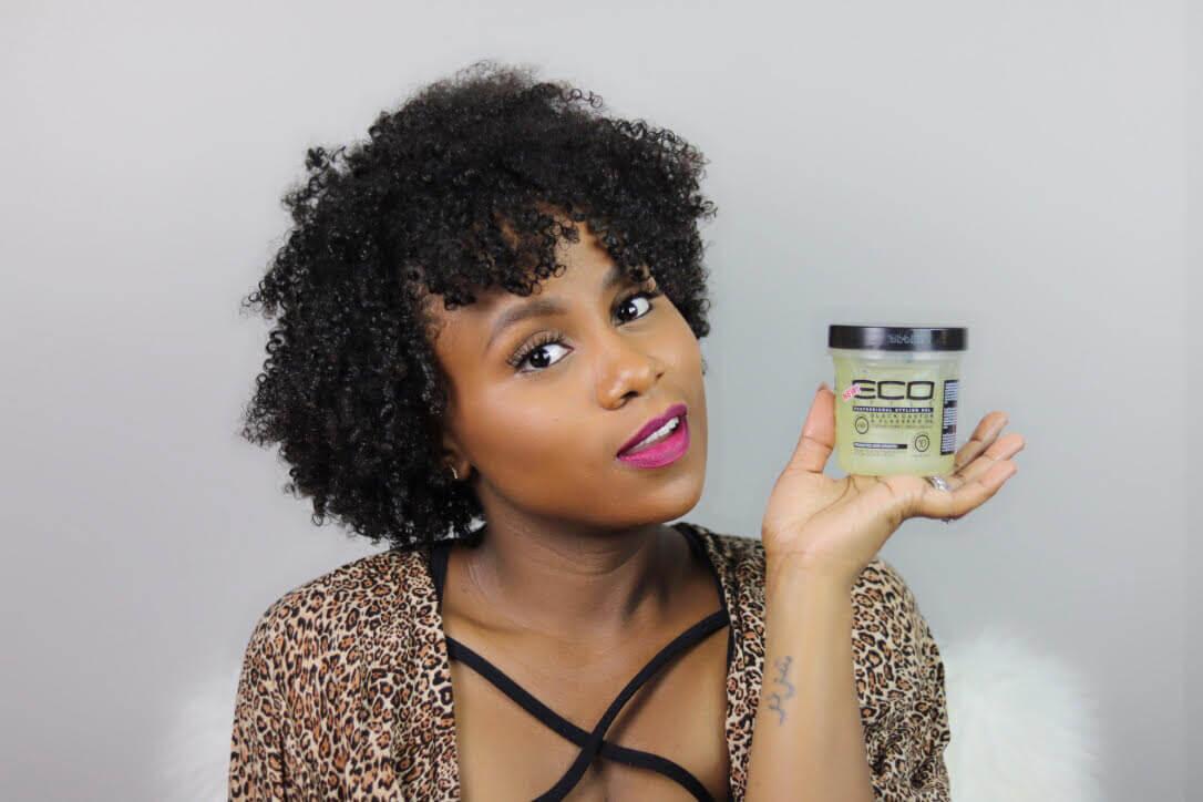 Eco Style Gel Black Castor Oil Flaxseed Oil Curls Understood